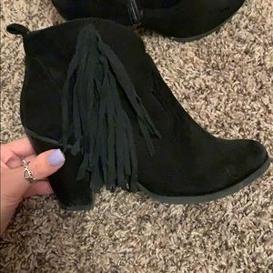 madden girl heeled booties